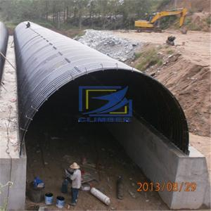 best quality corrugated steel culvert pipe in road custruction
